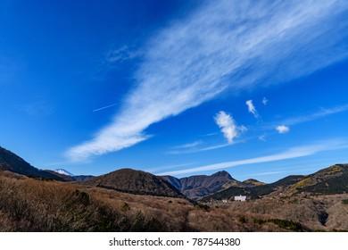 Mount Hakone in Hakone, Kanagawa, Japan.