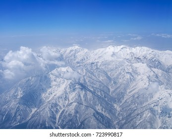 Mount Haku view from northeast to southwest, Japan