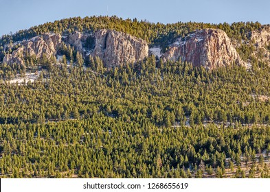 Mount Helena is a city park with lots of hking trails in Helena, Montana.