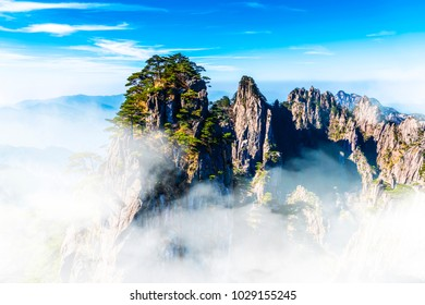 Mount Huangshan cloud sea