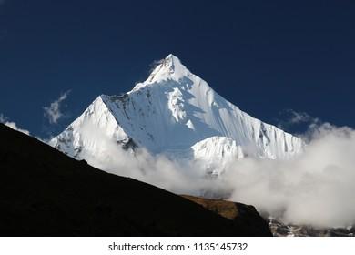 Mount Jitchu Drake, Bhutan