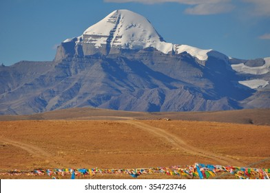 Mount Kailash is the holy mountain for Tibetans.