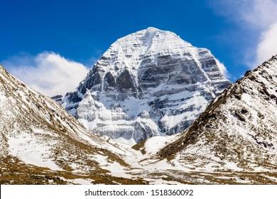 Mount Kailash. North face. Tibet