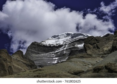 Mount Kailash viewed from west side during parikrama