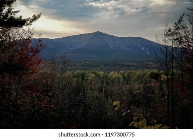 Mount Katahdin, in Baxter State Park in Millinocket Maine.