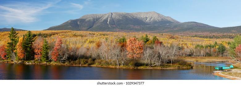 Mount Katahdin Panorama