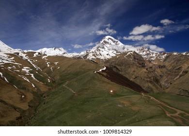 Mount Kazbegi, Georgia