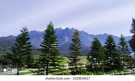 Mount Kinabalu at ranau diray fram