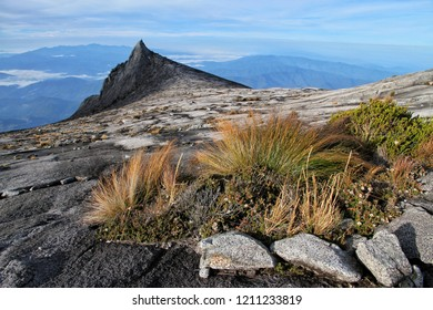 Mount Kinabalu scenery. Kinabalu National Park is the first national parks and first World Heritage Site of Malaysia.