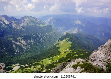 Mount Maglic - highest peak of Bosnia and Herzegovina, national parks of B&H