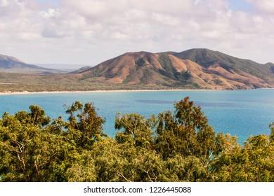 Mount Milman looking from Grassy Hill, Cooktown, North Queensland, Australia