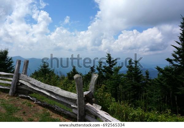 Mount Mitchell Split Rail Fence