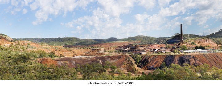 Mount Morgan Mine was a copper, gold and silver mine in Queensland, Australia. Mining began at Mount Morgan in 1882 and continued until 1981 was once the largest gold mine in the world.