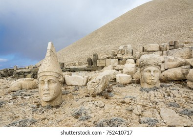 Mount Nemrut is famous for its giant sculptures and reliefs as you know. These giant sculptures and reliefs were built on the monumental tomb made for Antiochus I the King of Commagene
