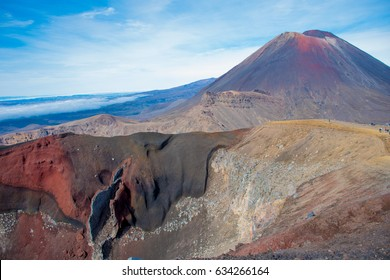 Mount Ngauruhoe and the Red Crater