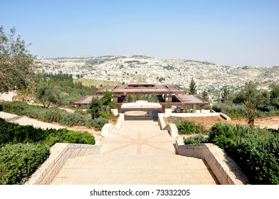 Mount of Olives. View from Sherover Promenade, Jerusalem