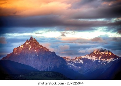 Mount Olivia has 1326 meters above sea level and is located around Ushuaia, capital city of the Province Terra del Fuego, Argentina