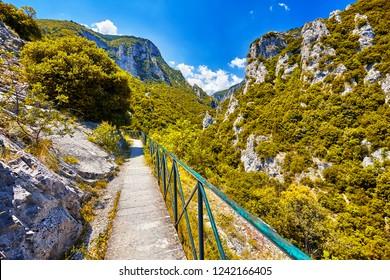 The Mount Olympus, E4 path, Pieria, Greece