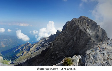 Mount Olympus in Olympus National Park, Mountains in Greece, Europe