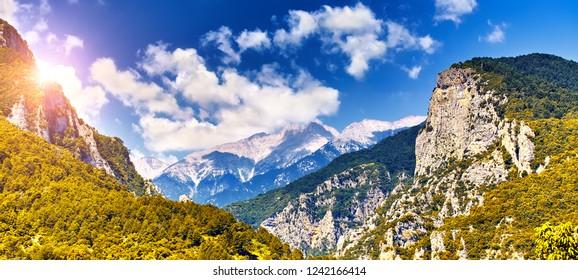 The Mount Olympus, Pieria, Greece