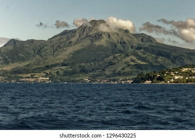 Mount Pelee in Saint-Pierre, Martinique FWI