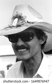 "Mount Pocono, PA / USA - June 17, 1990: Richard Petty, known as ""The King"" of stock car racing, is one of the most recognizable sports personalities in the world."