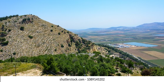Mount Precipice in Nazareth in the Galilee region in Northern Israel.  Believed by many to be the site of the Rejection of Jesus.