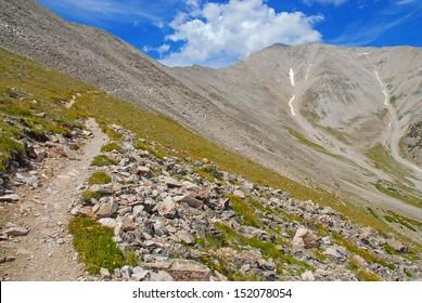 Mount Princeton, Rocky Mountains, Colorado