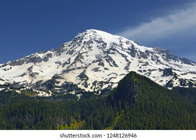 Mount Rainier, Mount Rainier National Park is a United States National Park located in southeast Pierce County and northeast Lewis County in Washington state, USA