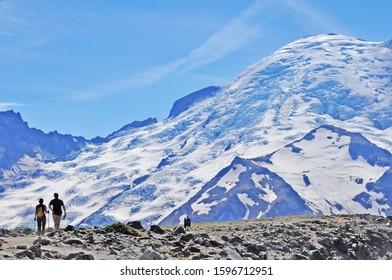 Mount Rainier National Park in Washington USA
