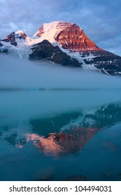 Mount Robson, the Highest Peak of Canadian Rockies