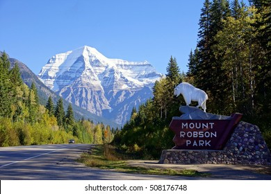 Mount Robson national Park Entrance, Canada