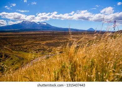 Mount Ruapehu, North island of New Zealand