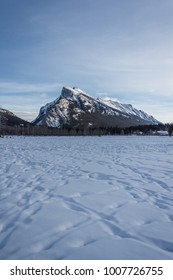 Mount Rundle in Banff National Park
