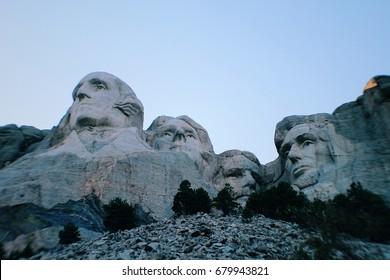 Mount Rushmore Close Up