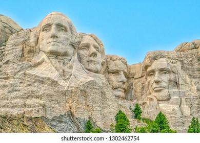 Mount Rushmore, an iconic landmark