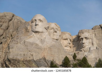 Mount Rushmore National Memorial in South Dakota, USA