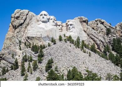 Mount Rushmore National Memorial, South Dakota, USA.