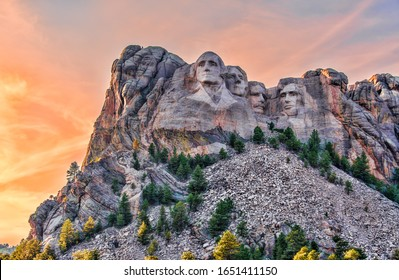 Mount Rushmore National Memorial,Black Hills region of South Dakota, USA