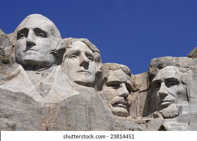 Mount Rushmore National Monument in the Black Hills, South Dakota, USA.