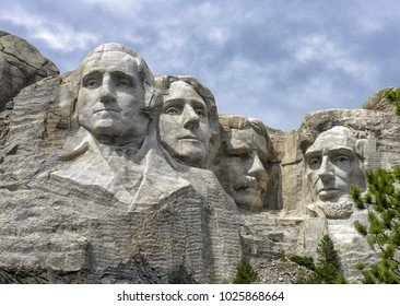 Mount Rushmore National Monument, South Dakota.