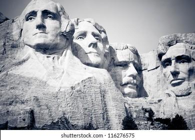 Mount Rushmore National Monument in South Dakota