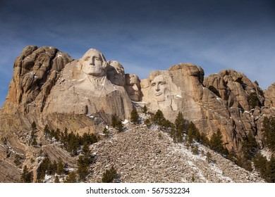 Mount Rushmore National Monument in South Dakota, USA