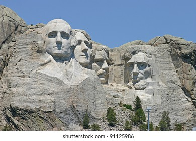 Mount Rushmore National Monument in South Dakota, USA
