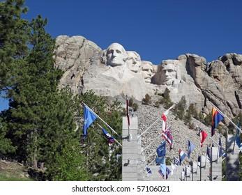 Mount Rushmore National Park Monument, South Dakota, U.S.A.