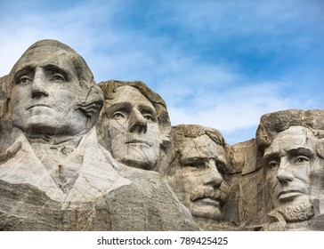 Mount Rushmore Presidential closeup