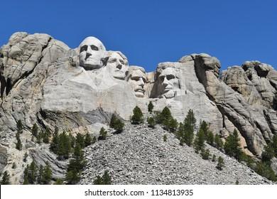 Mount Rushmore in SouthDakota