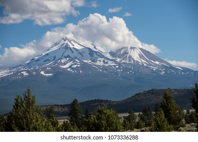 Mount Shasta, mystical mountain of Norther California