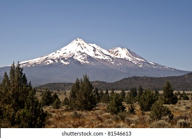 Mount Shasta in Northern California