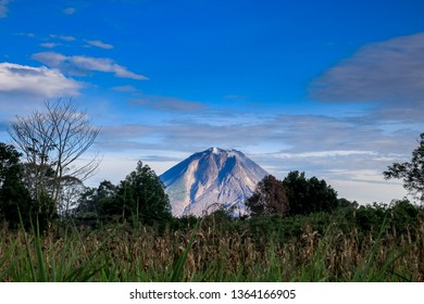 Mount Sinabung, An Active Volcano in North Sumatera, Indonesia